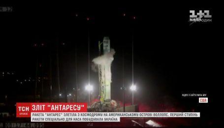 Несмотря на непогоду в США взлетела ракета, первую ступень которой изготовили в Украине
