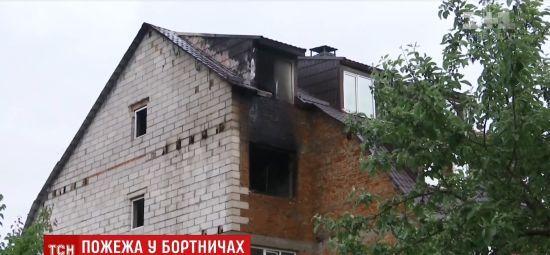 У Бортничах пенсіонер згорів у власній квартирі
