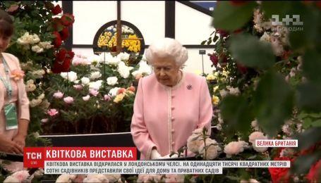 Знаменитая цветочная выставка открылась в лондонском пригороде Челси