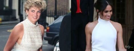 Обе прекрасны: второе свадебное платье Меган Маркл сравнивают с образом принцессы Дианы
