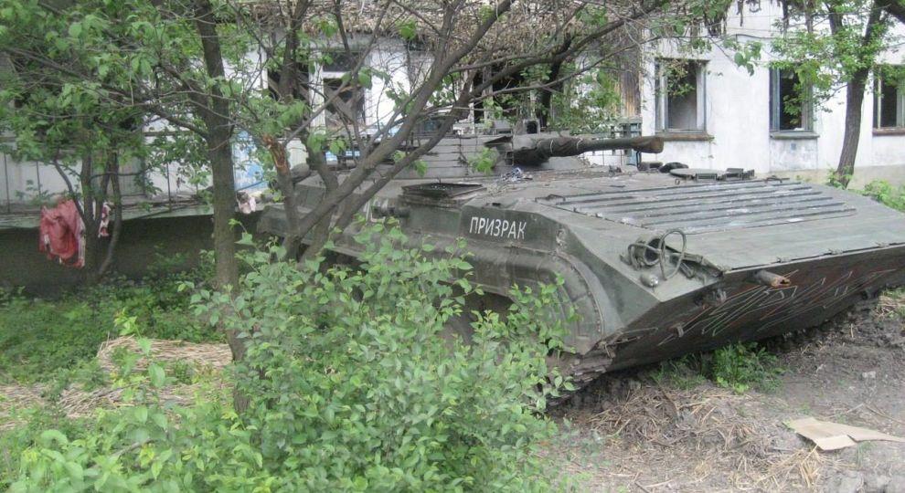 Спостерігачі ОБСЄ виявили на окупованому Донбасі десятки танків, гаубиць та військової техніки бойовиків