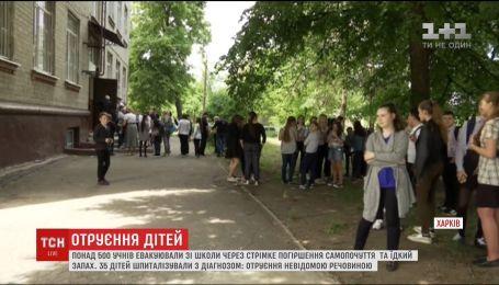 Харківські школярі стали черговими жертвами отруєння невідомою речовиною