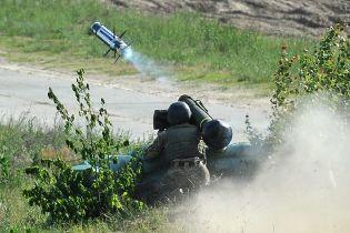 """""""Точно в ціль"""": у Турчинова показали фото випробування """"Джавелінів"""" і """"Стугни"""""""