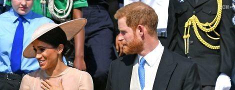 Меган Маркл та принц Гаррі вперше вийшли в світ як чоловік та дружина