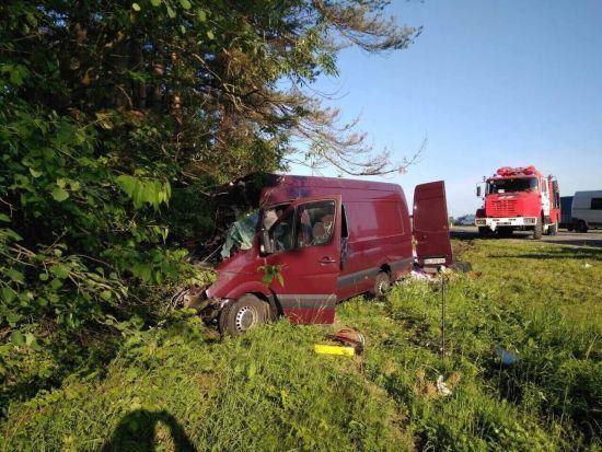 Загиблі в аварії на Львівщині повертались із заробітків додому