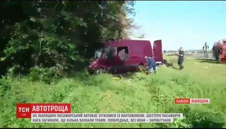 Шестеро заробитчан погибли в ДТП на Львовщине