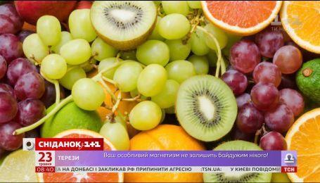 Які продукти сприяють схудненню - дієтолог Олександр Кущ