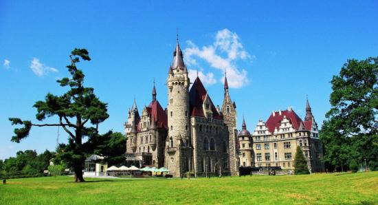 Казковий замок із британським шармом зберігся у польській провінції