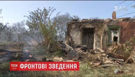 Двое украинских бойцов получили ранения на Восточном фронте