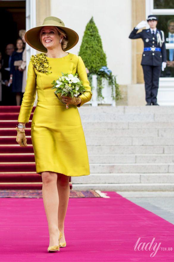 Великий Герцог Люксембургский Анри и Великая Княгиня Мария Тереза, король Нидерландов Виллем-Александр и королева Максима_2