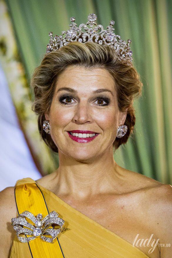 Великая Княгиня Мария Тереза, король Нидерландов Виллем-Александр, королева Максима, Великий Герцог Люксембургский Анри_1