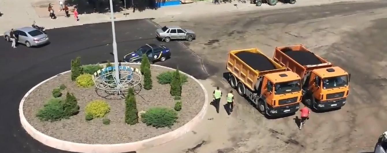 В центре Ржищева девушка устроила цирковую погоню с полицией и стрельбой