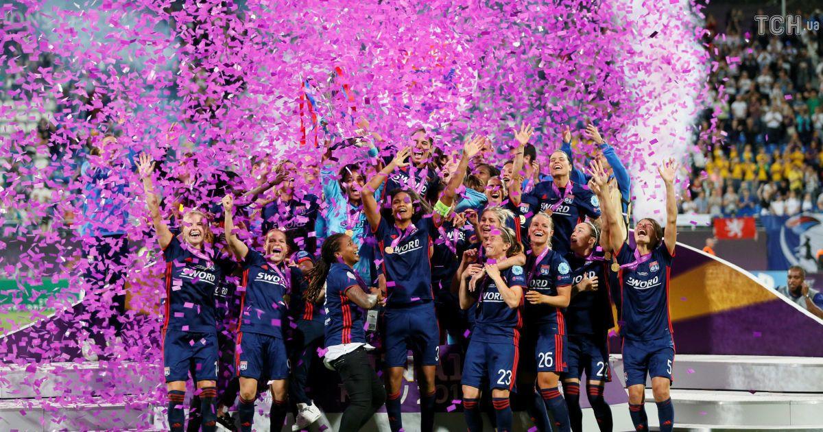 24 мая 2018 года. Киев. Финал женской Лиги чемпионов Вольфсбург - Лион - 1:4 @ Reuters