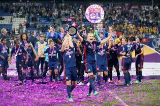 """Третій рік поспіль найкращі. Як """"Ліон"""" на """"Лобановського"""" святкував перемогу у фіналі Ліги чемпіонів"""