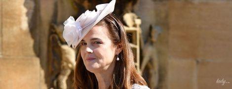 В кружевном платье с глубоким декольте: как выглядит новая помощница герцогини Сассекской