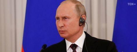 Путін замість відповіді на питання про Сенцова заговорив про арештованого в Україні Вишинського