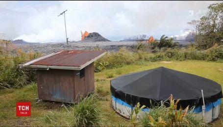 Розпалена лава з гавайського вулкану Кілаеуа впритул підійшла до Тихого океану