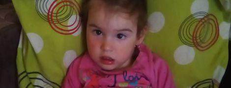 3-летняя Настя нуждается в жертвенной помощи