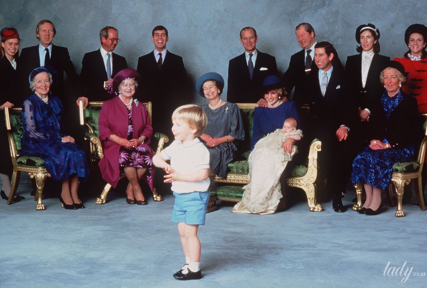 Крестины принца Гарри