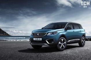 На рынок Украины привезли только дизельные версии Peugeot 5008