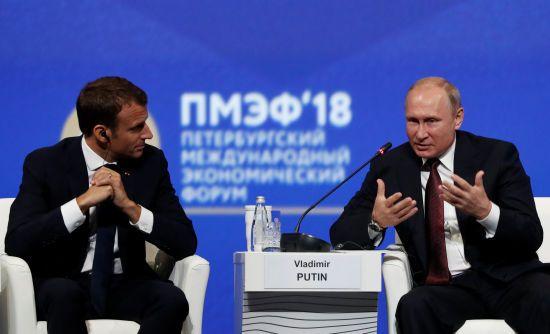 """""""Я не боюся"""". Макрон відкинув пропозицію Путіна """"допомогти"""" у сфері безпеки"""