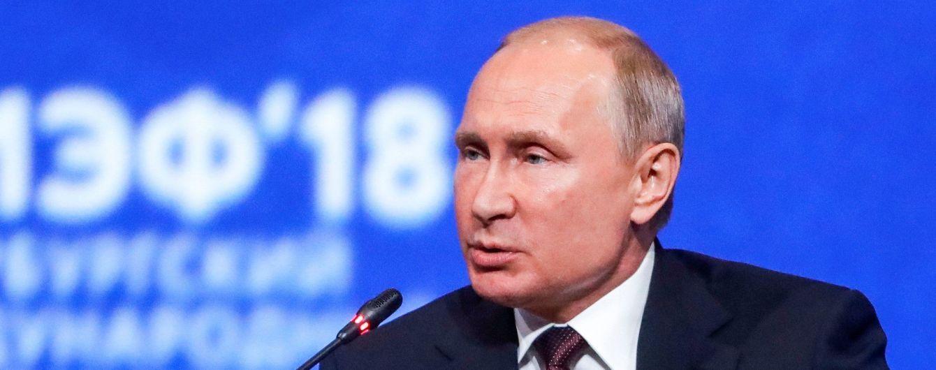 Путін запросив Кім Чен Ина на економічний форум у Владивостоці