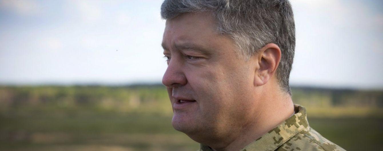 Звільнення в'язнів Кремля та миротворці ООН на Донбасі. Про що говорили Порошенко й Трюдо