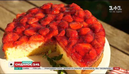 Полуничний пиріг – Солодка неділя