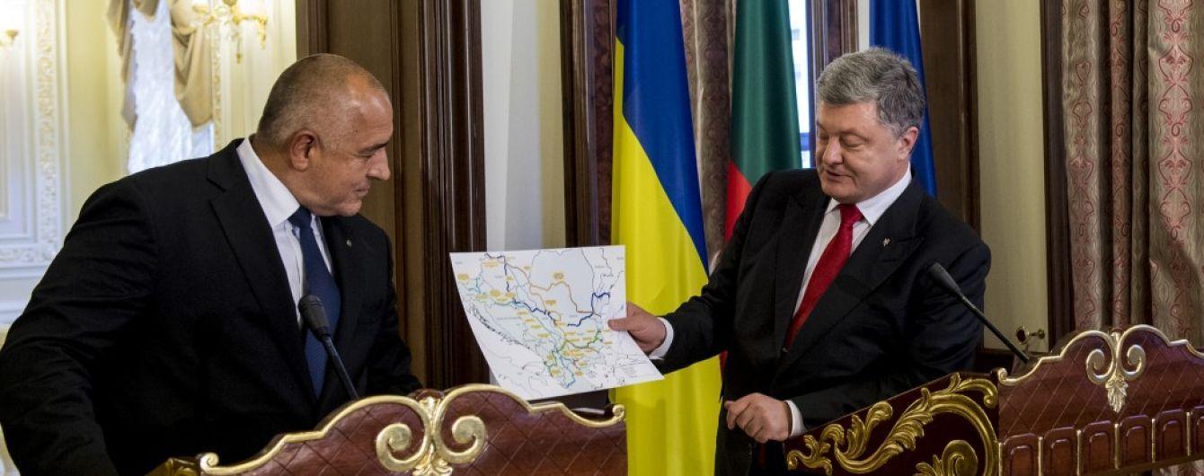 Порошенко договорился с премьером Болгарии о строительстве дороги Одесса-Варна