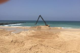 Израиль строит морские барьеры на границе с Сектором Газы