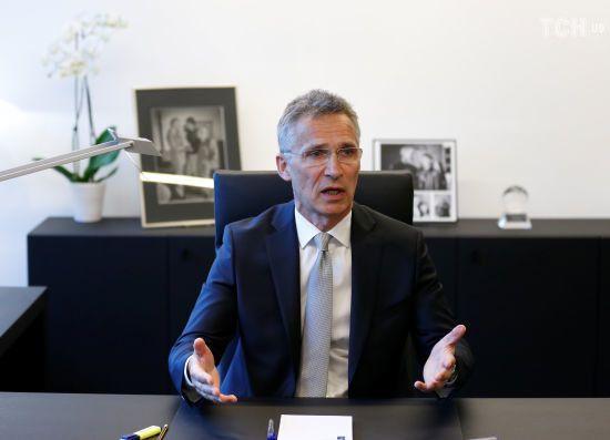 """Столтенберг запевнив, що НАТО не хоче нової """"холодної війни"""""""
