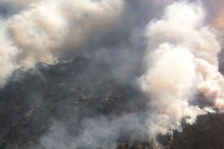До гасіння масштабної пожежі на Херсонщині долучили військових