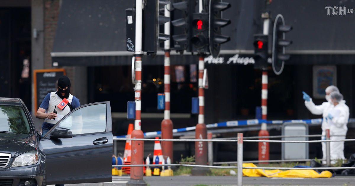 УБельгії чоловік застрелив двох поліцейських: фото і відео з місця стрілянини