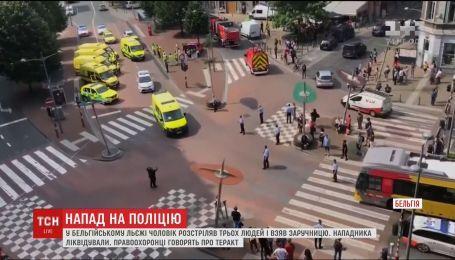 У Бельгії зловмисник влаштував стрілянину у поліцейських, є загиблі