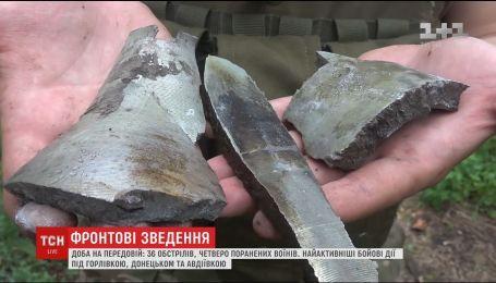 Ситуация на передовой: четверо украинских воинов получили ранения