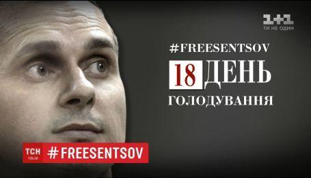 Голодание Сенцова: в политзаключенного начали выпадать зубы