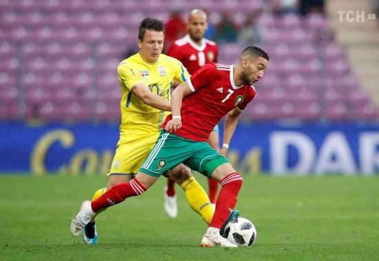 Збірна України не зуміла пререграти Марокко у товариському матчі