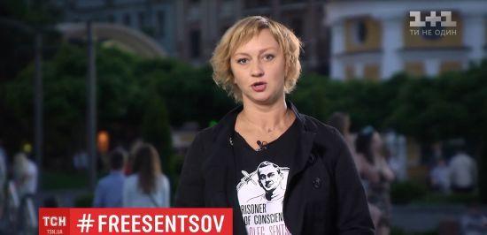 Акторка Зюбіна назвала Путіна злом і розповіла, як можна допомогти Сенцову