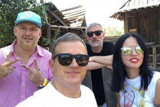 Потап и Юрий Горбунов начали съемки украинской комедии с Олегом Винником