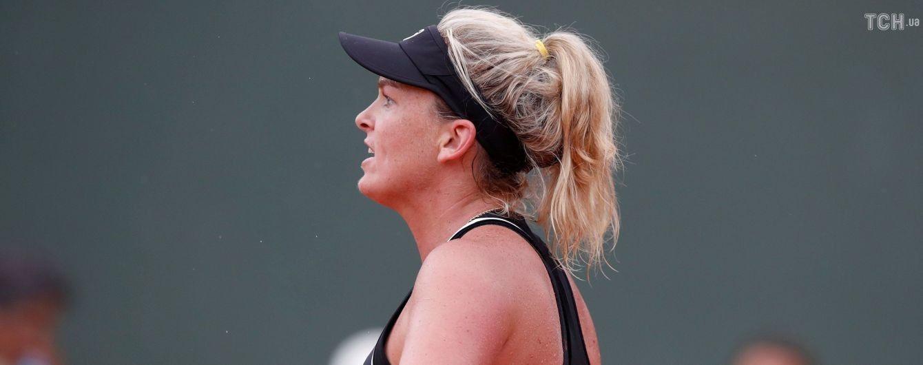 Міць Цуренко: американська тенісистка знищила ракетку після програного сету українці