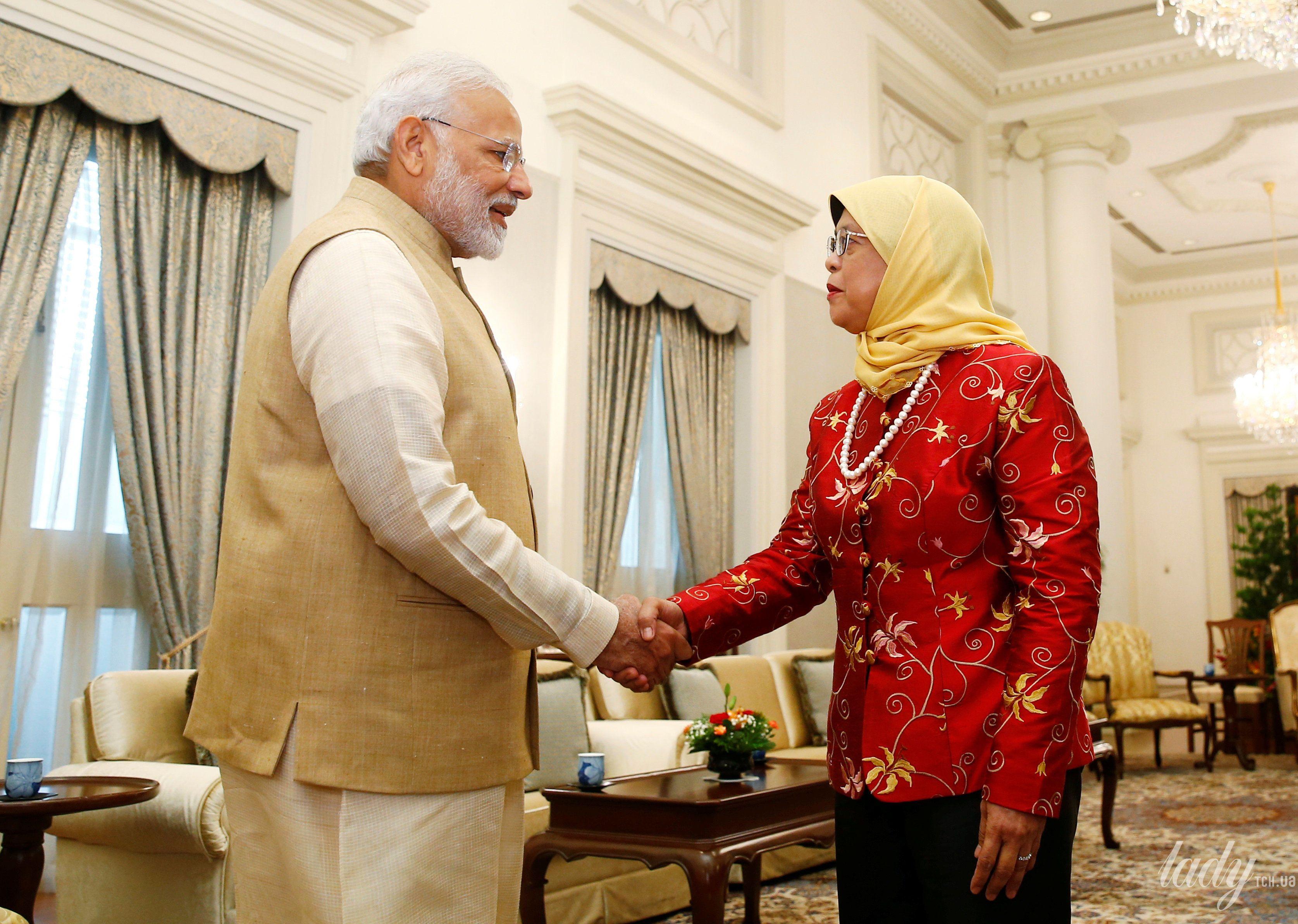 Президент Сингапура Халима Якоб_2