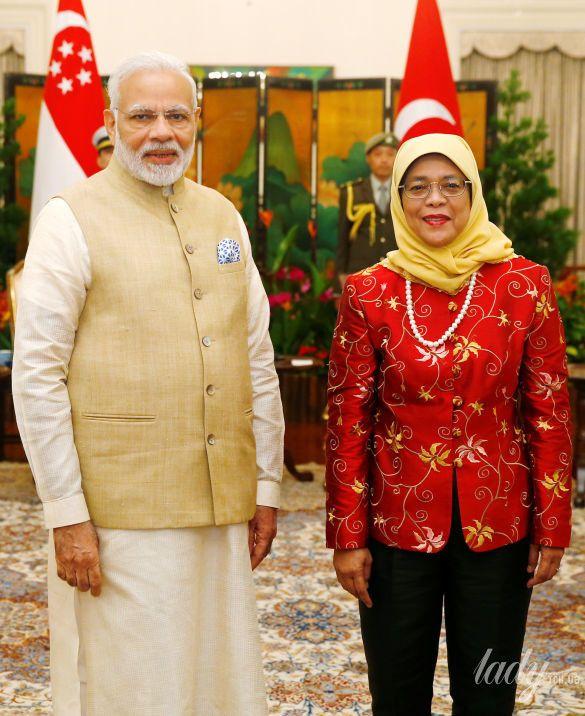 Президент Сингапура Халима Якоб_3