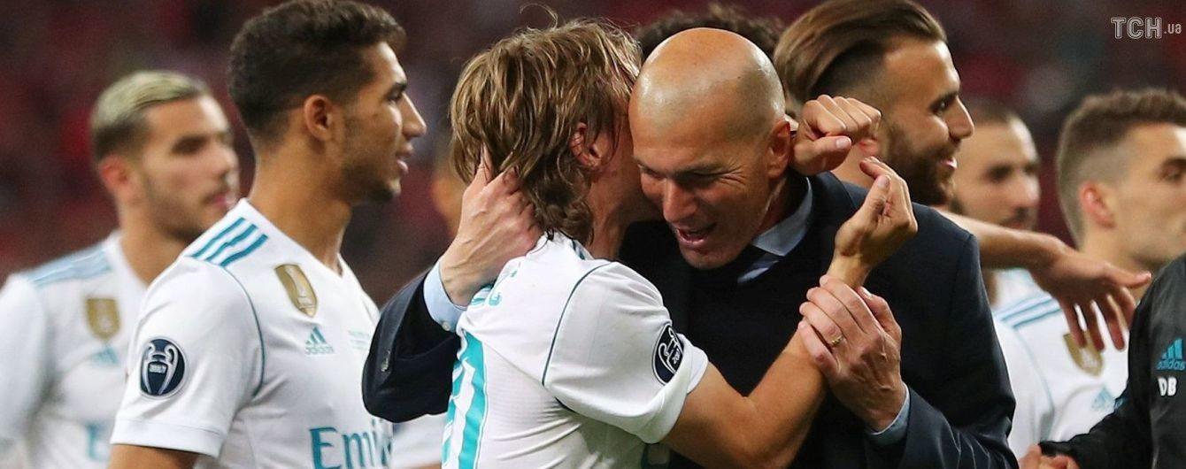 """""""Реал"""" выпустил ролик для Зидана с самыми эмоциональными моментами из Лиги чемпионов"""