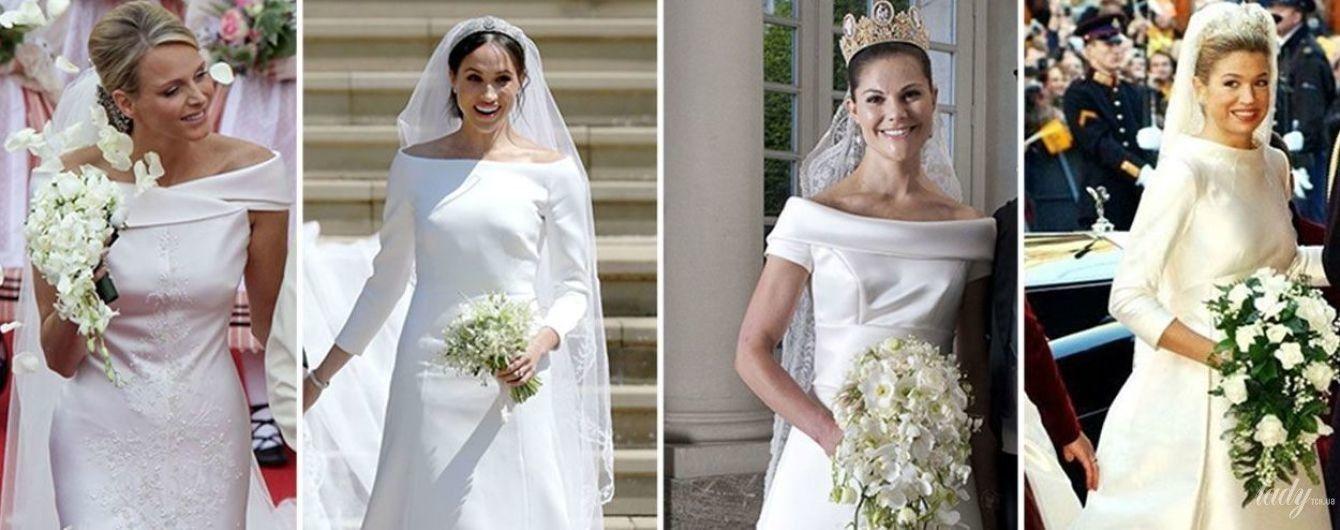 Похожий свадебный образ: Меган Маркл и еще четыре королевские невесты
