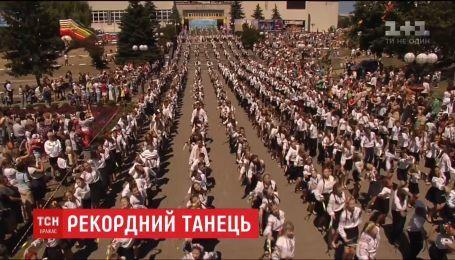 Діти в Обухові встановили новий танцювальний рекорд