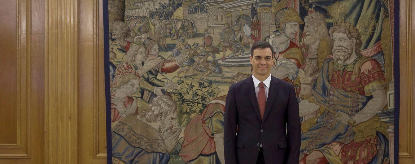 Новый премьер-министр Испании принес присягу