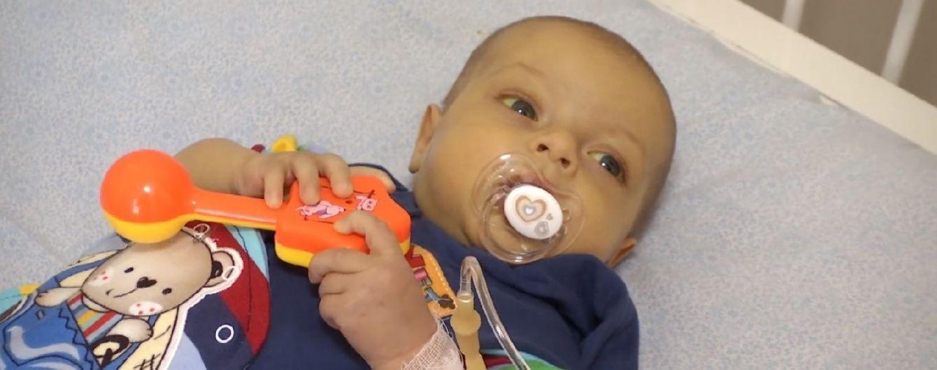 Допоможіть 5-місячному Миколці зібрати кошти для термінової пересадки печінки