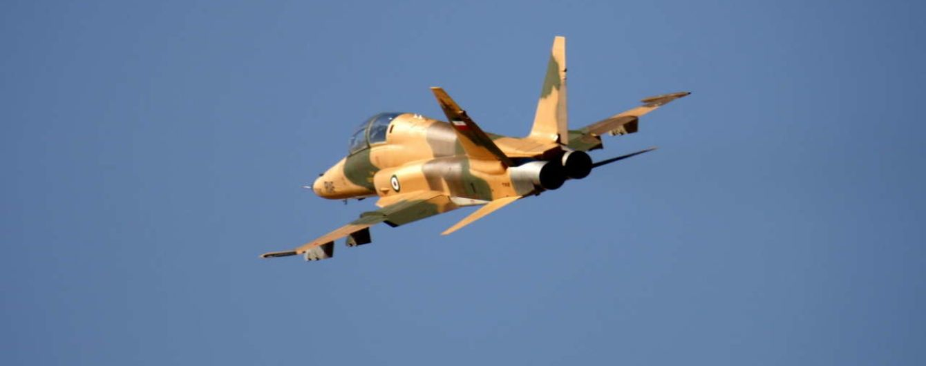 В Иране разбился самолет местных военно-воздушных сил