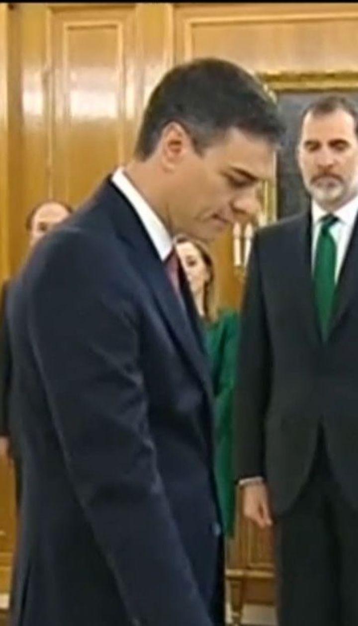 В Іспанії на вірність присягнув новий очільник уряду Педро Санчес
