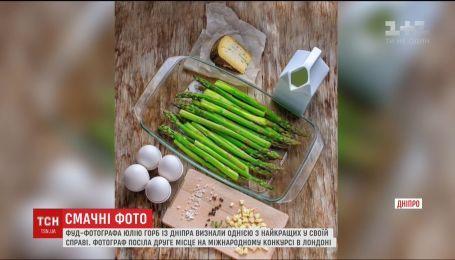 Украинка вошла в список лучших фотографов пищи в мире